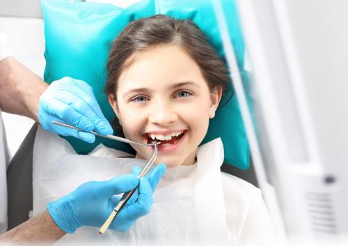 Pečatenie zubov - priebeh