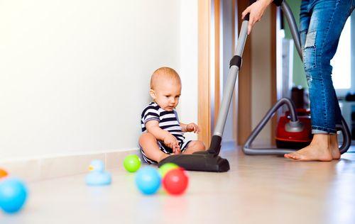 Príliš čistá domácnosť deťom škodí