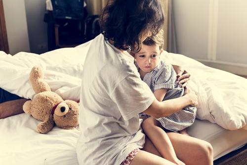 Ako zvládnuť nočné mory u detí