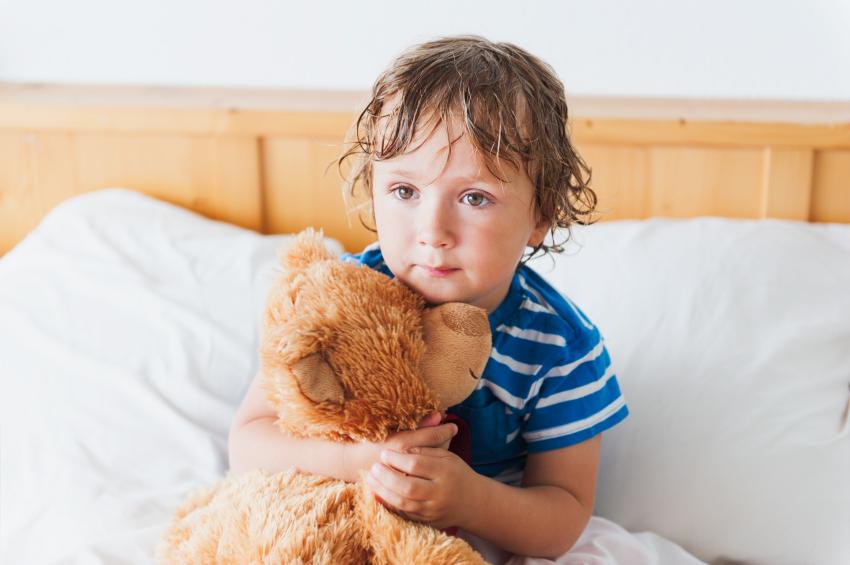 Diagnostika a liečba nočného pomočovania u detí