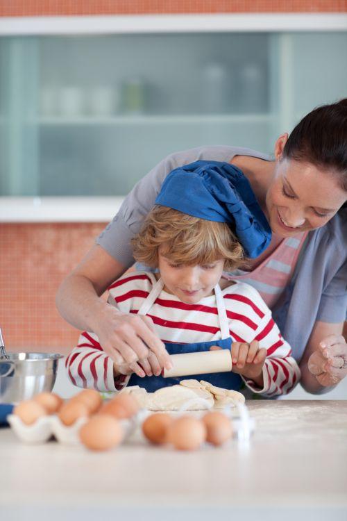 Učíme dieťa s poruchou sluchu - zábava v kuchyni